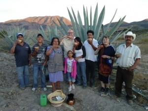 In The Fields with a Pulque Producing Family