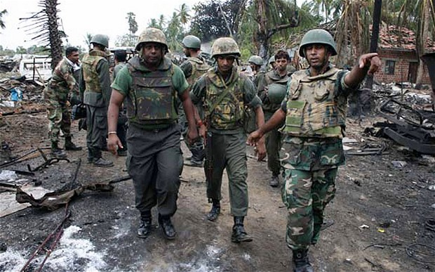The Sri Lankan Civil war has Raged for 30 years,cr-telegraph.co.uk