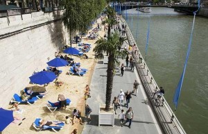 Paris plage,cr-telegraph.co.uk