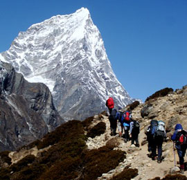 Mt Everest trekking, Cr-tibettravel.