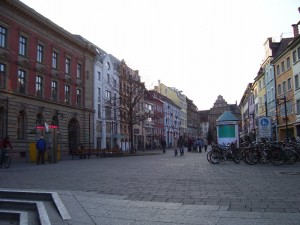 The Main Square: The Marktstätte