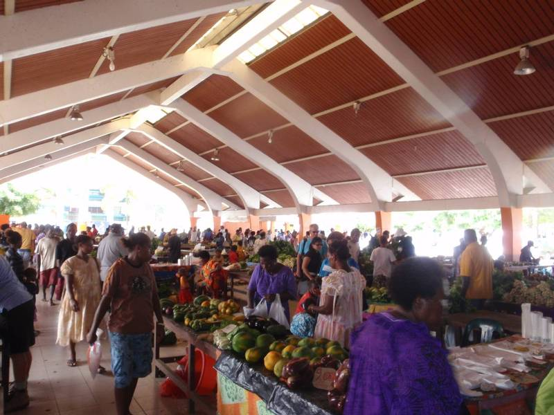 Markets are a great place to taste the tropics Credit: J McLellan
