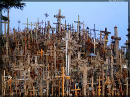 Hill of Crosses in Šiauliai, Lithuania, Credit faithandfacts.com