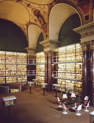 Reading Hall in the Herzog August Library Credit: HAB Wolfenbüttel