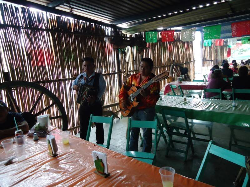 Live Music at Los Huamuches  Restaurant Credit: Starkman