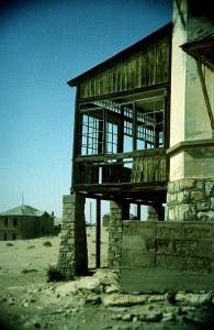Kolmanskop window