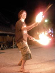 Fire Juggling in Pai