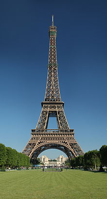 Eiffel Tower, Wikipedia