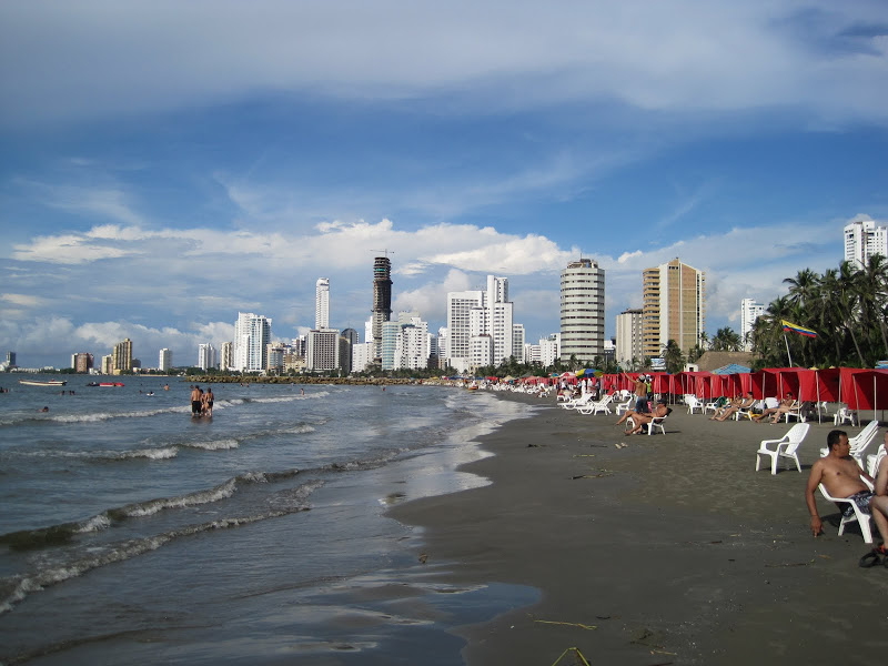 Bocagrande Beach, Columbia,aroundthisworld.com