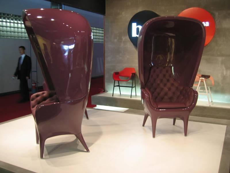 BD Barcelona showroom with Poltrona chair by Hayón Credit: BD Barcelona