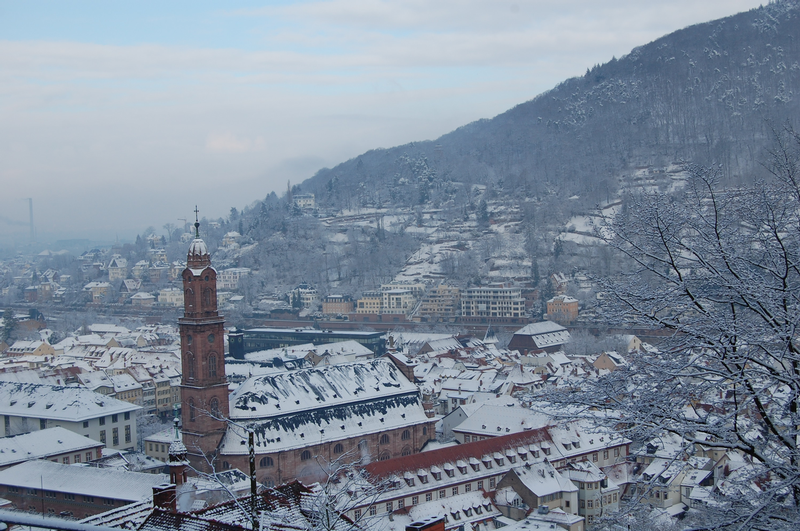 Heidelberg in Winter Credit: Cornelia Lohs