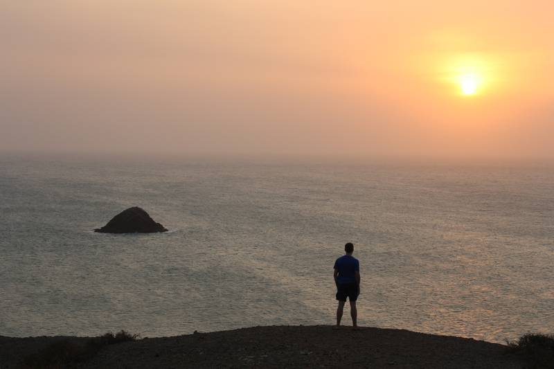 Sunset at Cabo de la Vela Credit: Richard McColl