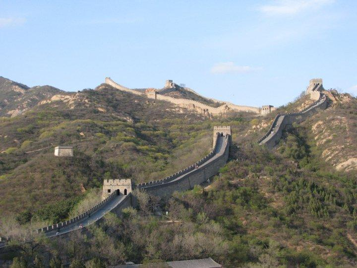 The Great Wall of China Credit: Jill Morgyn