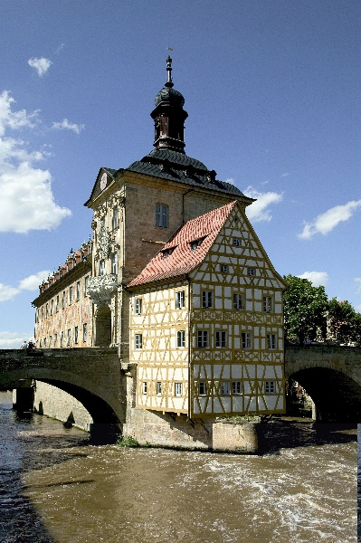The Old City Hall in Bamberg Credit: Archiv des BAMBERG Tourismus & Kongress Service