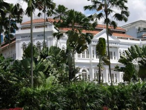The Historic and Famous Raffles Hotel Credit: Camila Castro