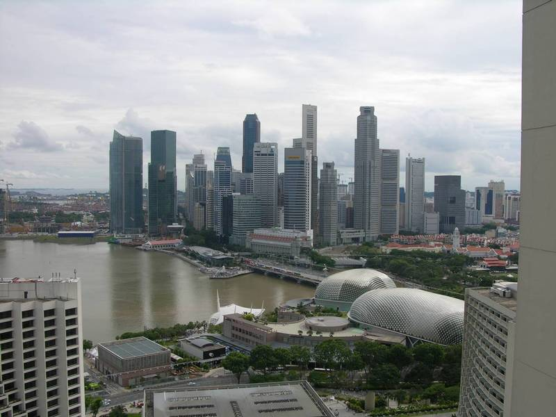 View of Singapore's Marina Bay Credit: Camila Castro