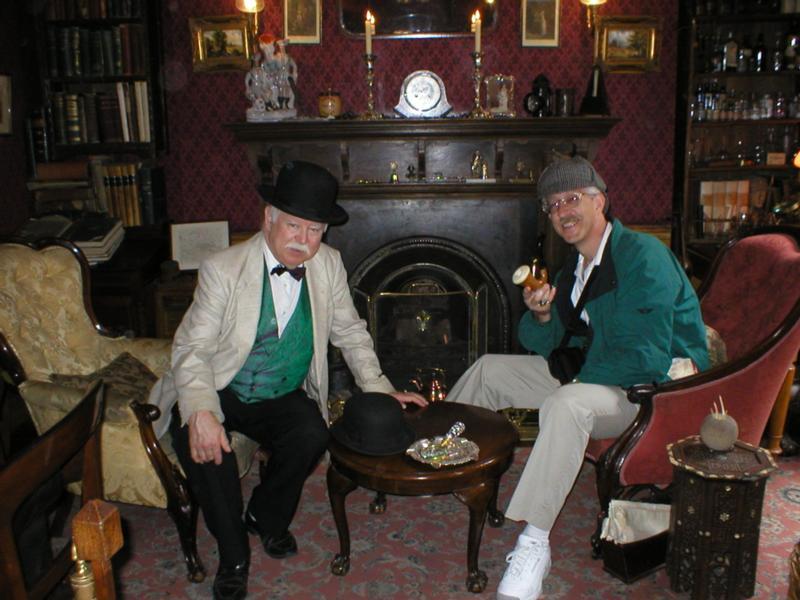 Sherlock Holmes's Sitting Room Credit: Diane E.  Tatum
