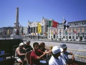 Praca dos Restauradores, Lisbon by Jose Manuel