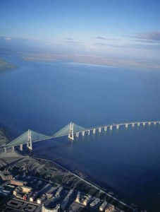 Vasco da Gama Bridge and Tagus River, Credit:wayfaring.info