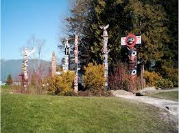 Totem Poles at Stanley Park, Vancouver - Geraldine Eliot