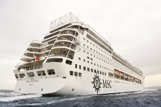 Cruising on the MSC Sinfonia: Total bliss from Durban to Cape Town