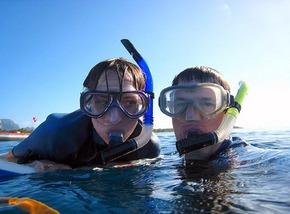 Snorkeling in Hawaii - Mr. Thomas