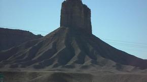 Entrance Butte to Ute Mountain - Richard F. Fleck