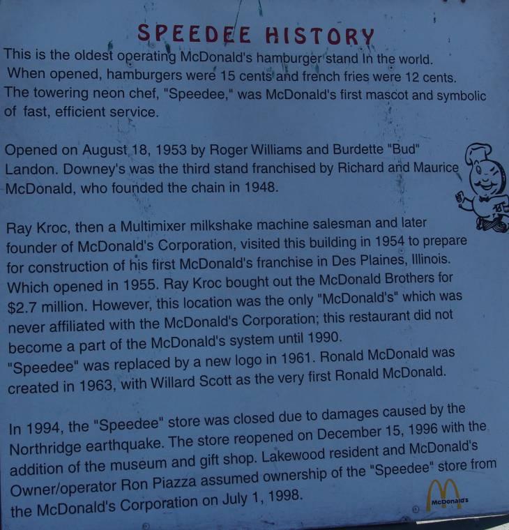 Speedy History