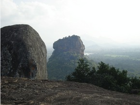 Sigiriya's North Face from Pidurangala,Sri Lanka - Pamela Durant
