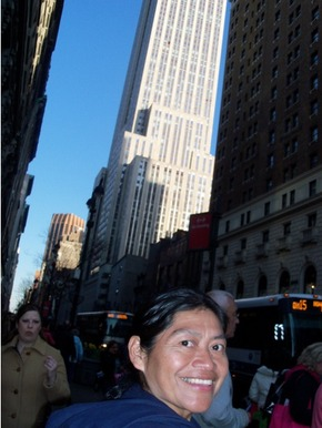 Gloria and the Empire State Building