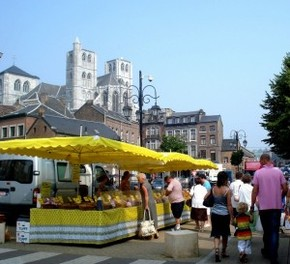 Farmer's Market, Huy, Belgium - Greca M Durant
