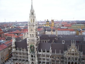 View of Marienplatz, Munich - Suzanne Swartz