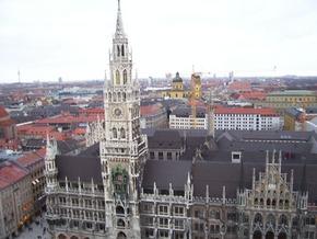 View of Marienplatz, Munich - Suzanne Swartz