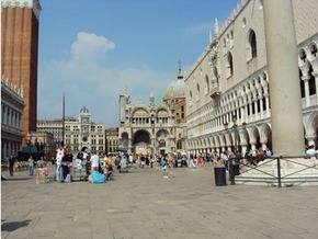 St Mark's Square after the cull - MR