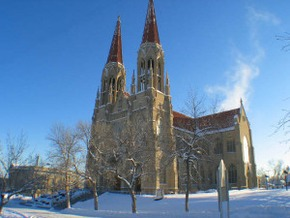 Helena Cathedral, Helena, Montana, By Brian D'Ambrosio