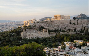 The Acropolis at Athens, Cr wikimedia