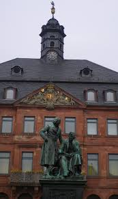 Statue of the Brothers Grimm, Hanau, Germany
