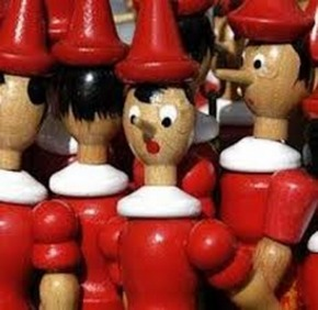 Pinocchio,Bargain in Italian - Klearchos