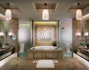 The Chairman Suite Bathroom-marina bay sands