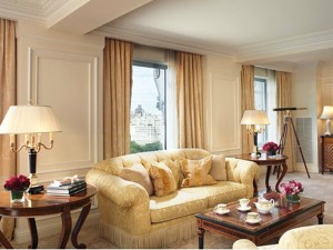 Royal suite of the Ritz carlton, NY
