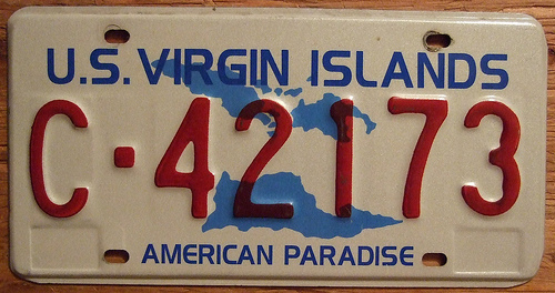 Virgin Island plate- Cr-Flickr woody1778a