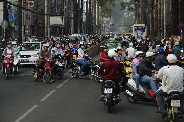 Vietnam, Credit-flicker