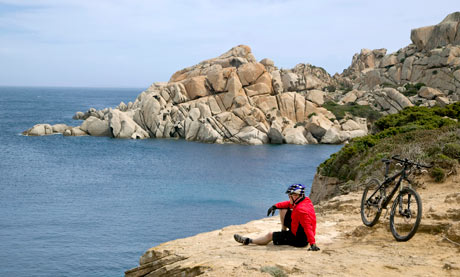 Beach-to-beach cycling in Sardinia