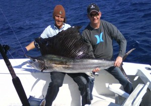 Sailfish Outcast Charter Fishing boat