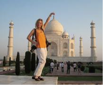 Me at Taj Mahal