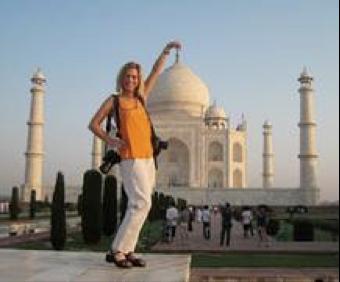 Me at Taj Mahal