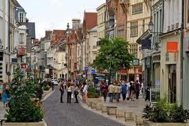 Troyes, Northern France., Cr flicker