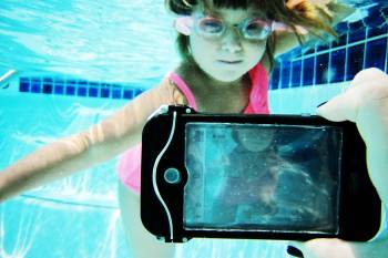 underwater smartphone housing
