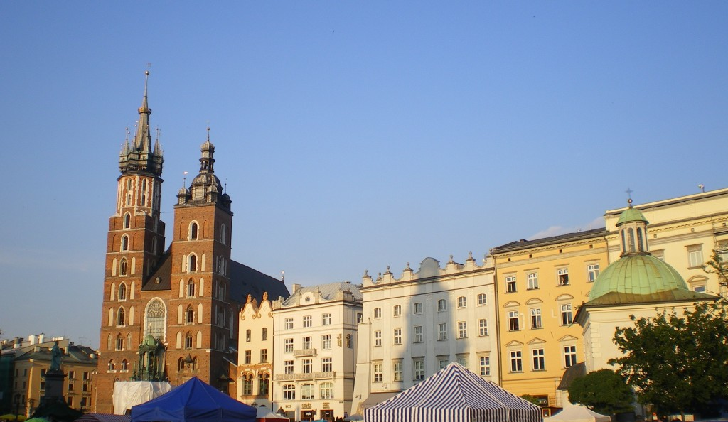 St. Mary's Church in Kraków's Market Square