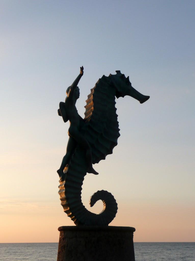 Sea Horse statue, Banderas Bay